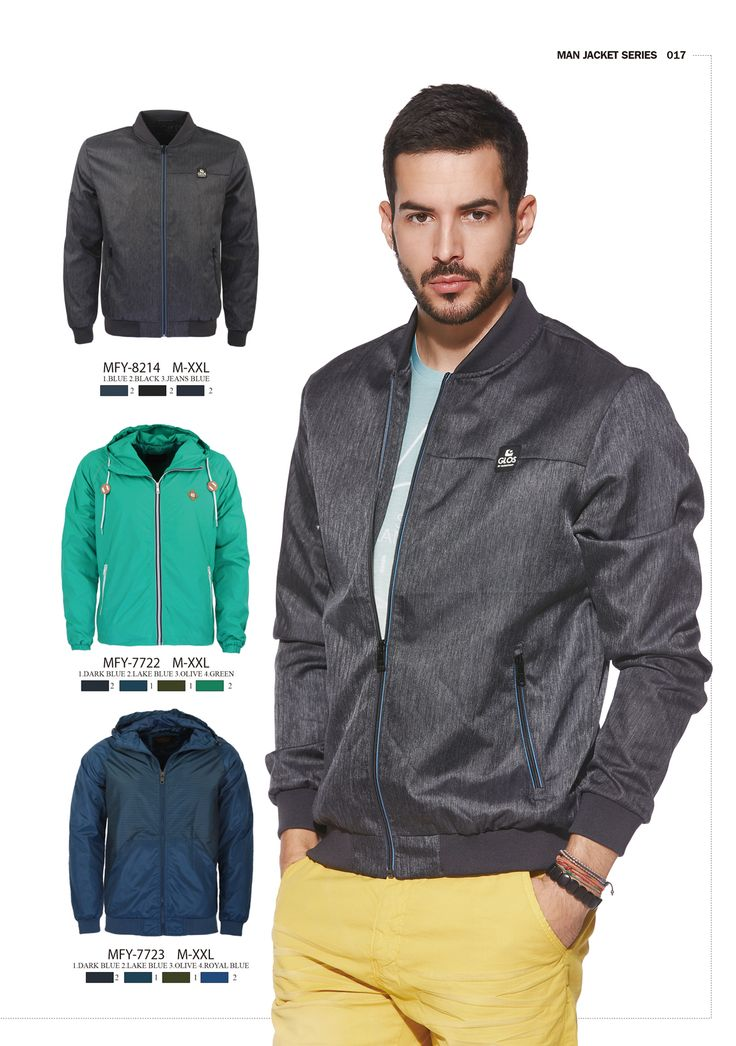 Classic or fun? Which jacket do you prefer?  #formen #clothing #fashion #glostory #coat #jacket #black #grey #blue #brown #sporty