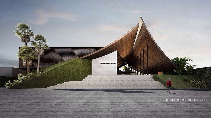 Modern thai architecture designed by idin architect