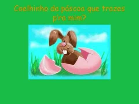 Músicas para o Jardim de infância - Coelhinho da páscoa