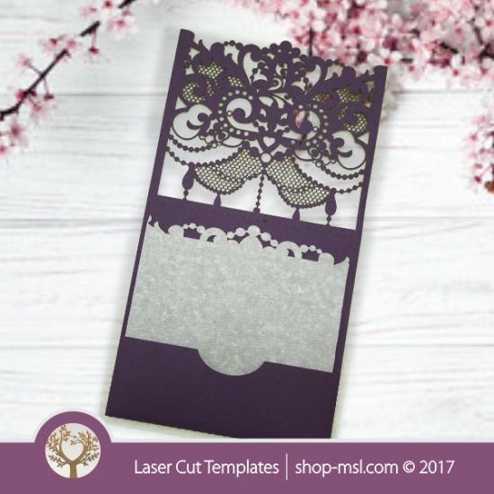 193 best laser cut wedding invites and more images on pinterest laser cut wedding template invite envelope pockets buy online now free vector stopboris Choice Image