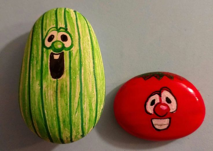 Larry and Bob. Veggie Tales