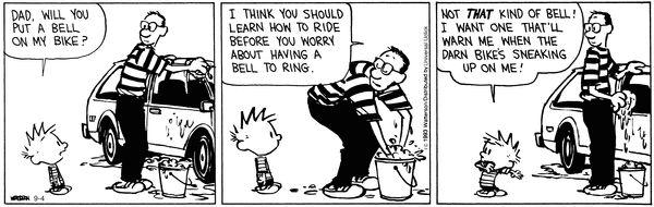 Calvin and Hobbes Comic Strip, September 04, 2013 on GoComics.com