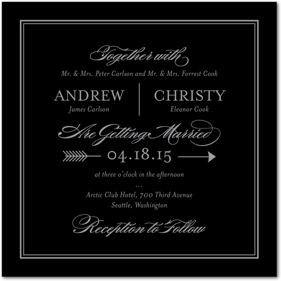121 best Wedding Invitations images on Pinterest Invitations - free wedding invitation card templates