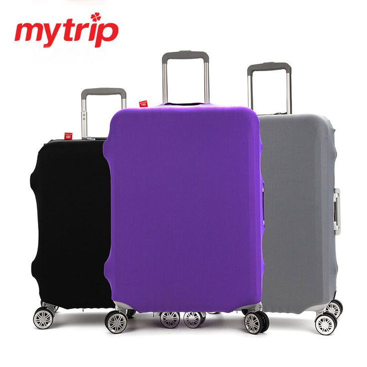 Mytrip Viajes Maleta Del Equipaje de Color Puro Espesar Portátil Cubierta Protectora, Estirar, hecho para S/M/L/XL, aplicar a 18-32 pulgadas Casos