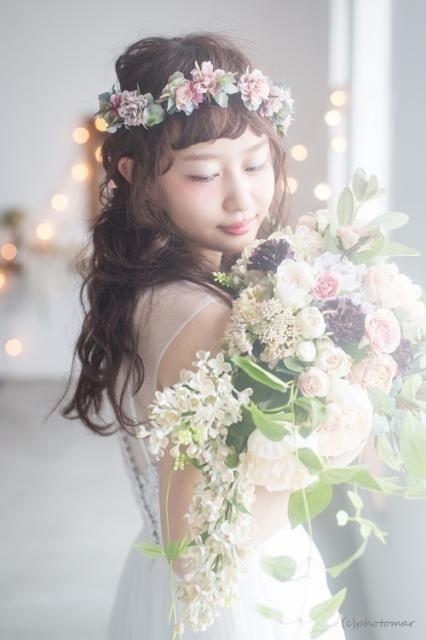 ハンドメイドアクセ作りの参考にできる*お花をつかった花びらピアスのデザイン例まとめ♡にて紹介している画像