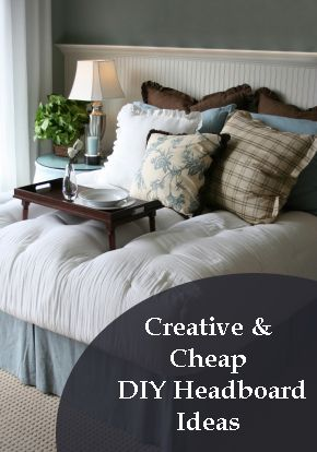 274 best images about diy headboards on pinterest diy for Easy do it yourself headboard ideas