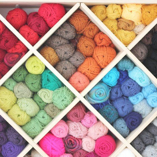 Knitting Wool Storage Ideas : Best yarn organization ideas images on pinterest