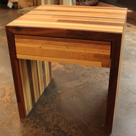 Scraps Of Wood Are Collected From Wood Shops All Over Brooklyn And Custom  Made Into Wonderful Pieces Of Furniture, Designed By The Aptly Named  Scrapile.