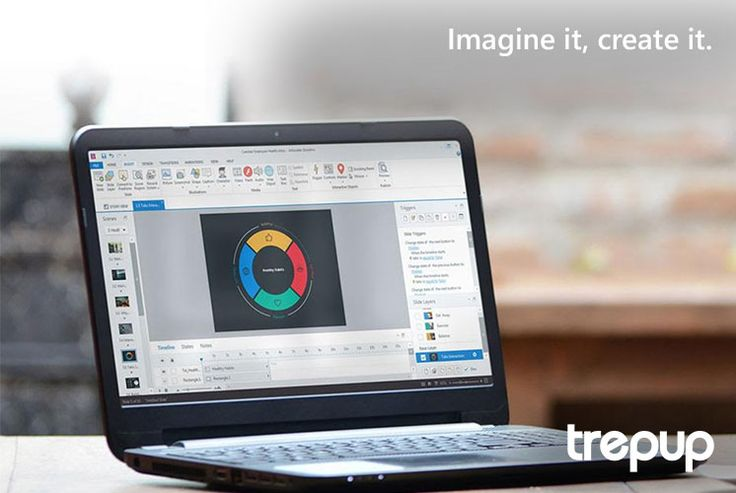 If you can imagine it, you can create it. Articulate's powerful tool, Storyline 2, allows you to make engaging courses with ease with over 47,500 combinations of photographic and illustrated characters, expressions and poses. http://trepup.co/1sDNEjG