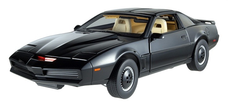KITT - Knight Rider Diecast Scale Model by Hot Wheels
