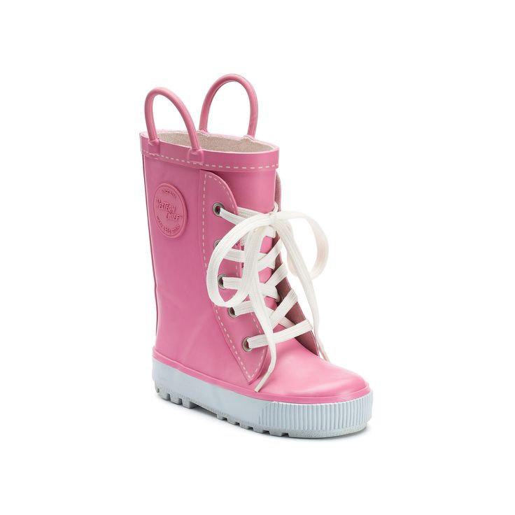Western Chief Sneaker Boot Toddler Girls' Waterproof Rain Boots, Girl's, Size: 10 T, Light Pink