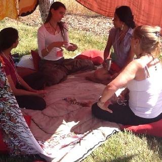 Tented women's circle