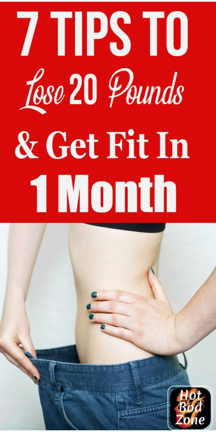 Lose 20 Pounds In A Month. Want To Know How To Lose 20