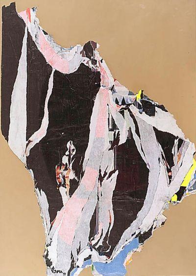 cavetocanvas:    Asger Jorn, DeCollage, 1971