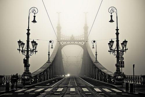 black-and-white: The Bridge (by arminMarten)