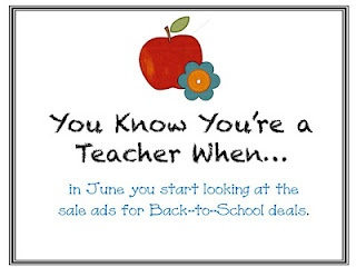 Back to School ads in June