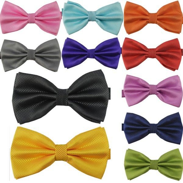 Classic Fashion Bow Tie Novelty Men Adjustable Tuxedo Bow tie Wedding Ties Necktie WZ20