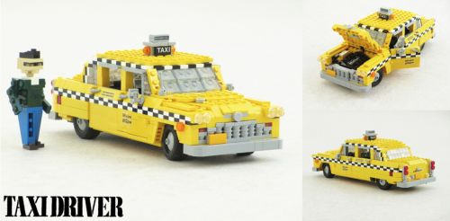 Lego Taxi Driver Checker Marathon