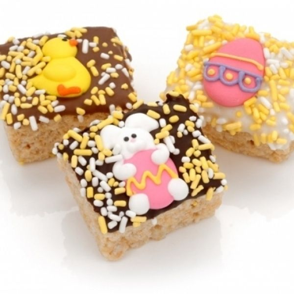 109 best easter chocolates and bunny images on pinterest an old time favorite our rice krispies bites are dressed in belgian chocolate and negle Gallery
