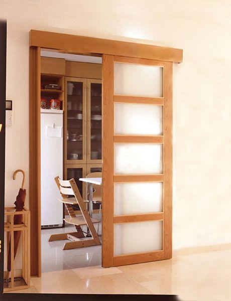 Resultado de imagen de puertas correderas de madera
