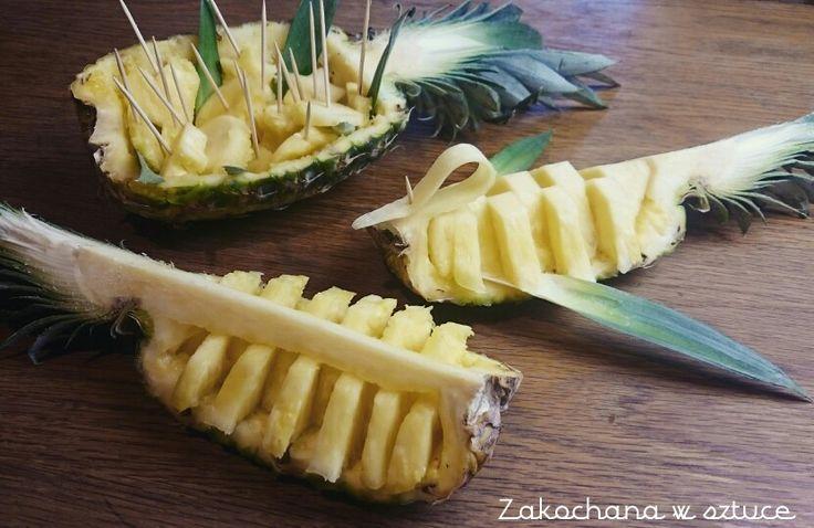 Trzy sposoby na wyjatkowe podanie ananasa   #ananas #pineaplle #owoc #fruit #jakpodaćananasa #kulinarneDIY #zakochanawsztuce