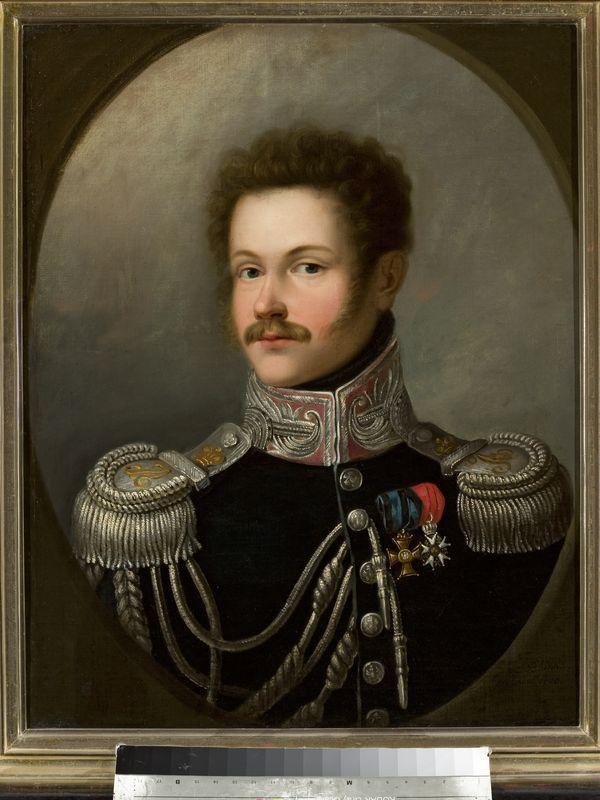 Portret generała Józefa Załuskiego-mal.Antoni Blank 1818-Muzeum Narodowe Warszawa