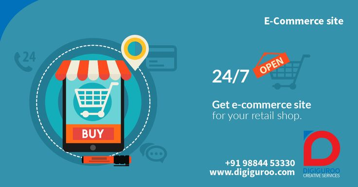 #Ecommerce Get #ecommerce site for your #retail #shop. http://digiguroo.com