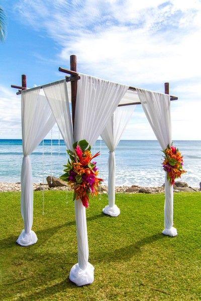 Best 25 Beach Wedding Arches Ideas On Pinterest