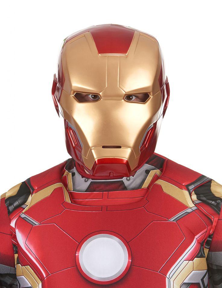 Les 53 meilleures images du tableau masques personnages - Masque iron man adulte ...