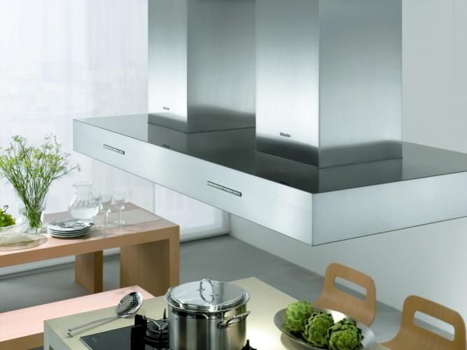 Miele SmartLine kookelementen met werkbladafzuiging Keukens - versenkbare steckdose küche