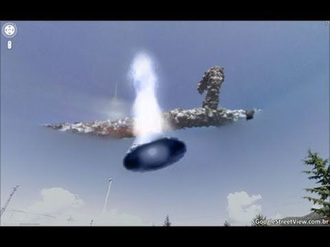 ☒ FLYING SAUCER IS SHOT DOWN BY ISRAELI AIR FORCE☒ - YouTube