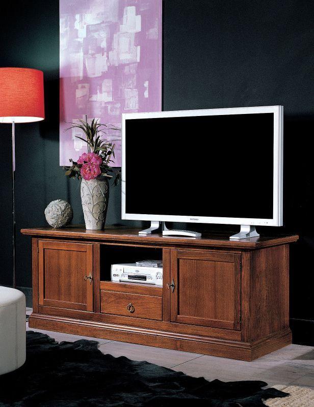 Mobile Porta Tv Legno Noce.Mobili Per Tv In Legno Mobile Portatv Per Soggiorno Moderno Un
