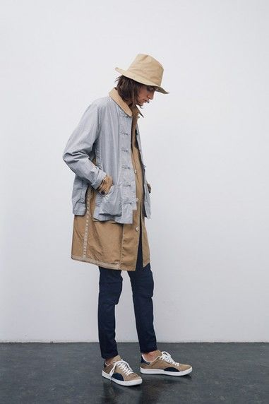 JohnUndercover Spring/Summer 2016 lookbook.