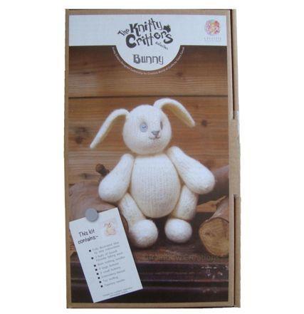 Knit and Felt Kit  - bunny