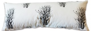 Mulga Shadow Long Cushion by Sophie Seeger for The Eco Collective