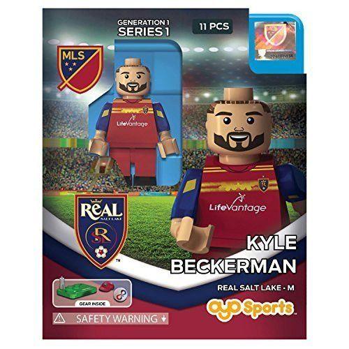 Kyle Beckerman MLS OYO Real Salt Lake Generation 1 Series 1 G1 Mini Figure