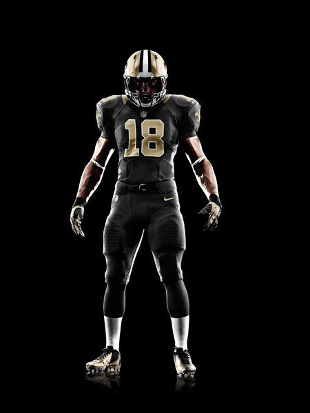 New NFL Uniforms: New Orleans #Saints. BOSS.