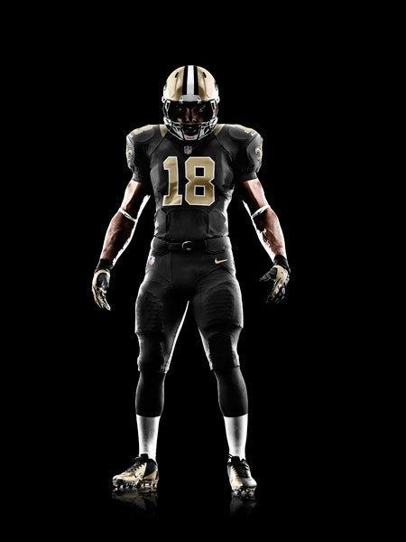 New NFL Uniforms: New Orleans #Saints