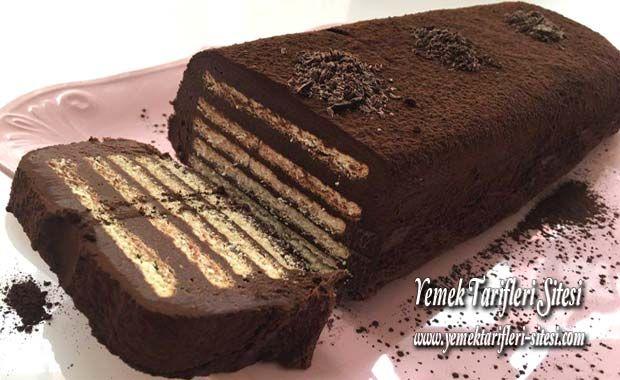 Bisküvili Soğuk Pasta Tarifi | Yemek Tarifleri Sitesi - Oktay Usta - Harika ve Nefis Yemek Tarifleri