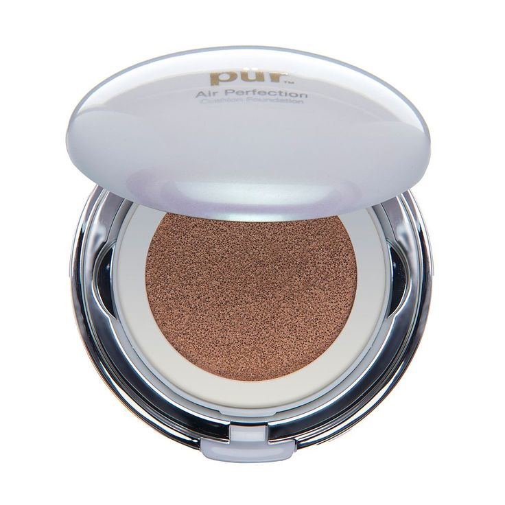 PUR Air Perfection CC Cushion Compact Foundation with SPF 50, Med Beige