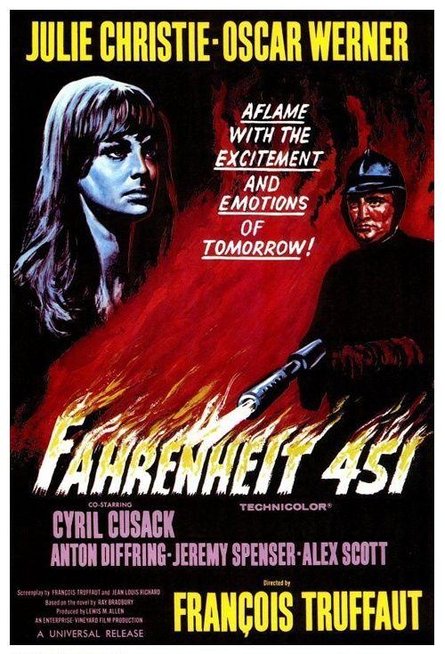 Fahrenheit 451, Movie Poster