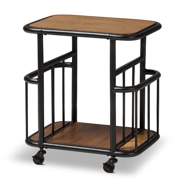Bentley Industrial Metal And Wood Wheeled Kitchen Serving: Best 25+ Serving Cart Ideas On Pinterest