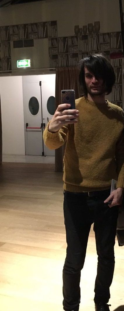 Jonny Greenwood - Junun Tour un November 5, 2016, London - #Radiohead - Selfie