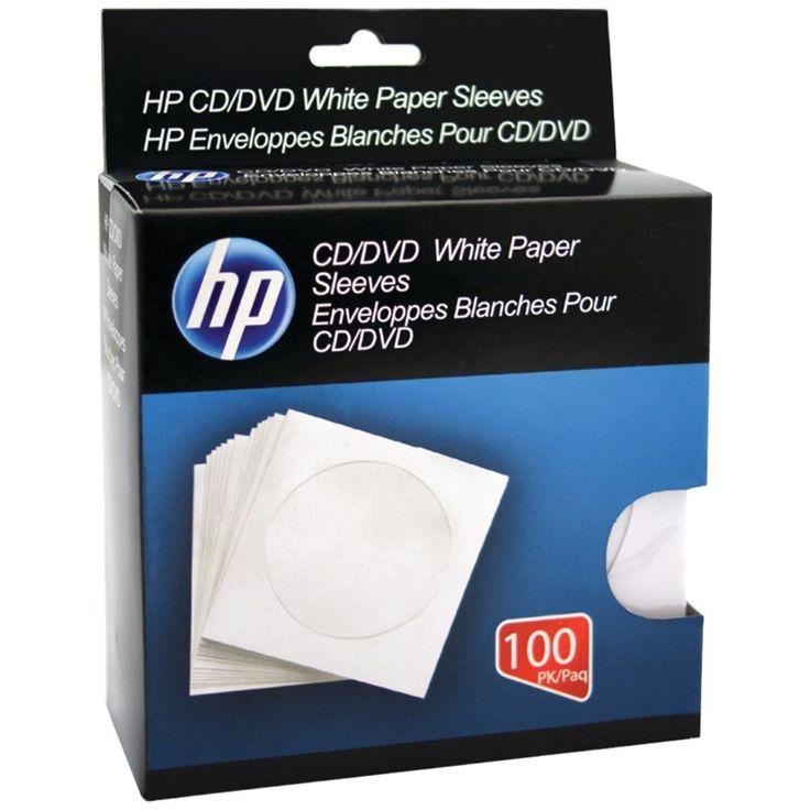 Hp Cd And Dvd Storage Sleeves (100 Pk)