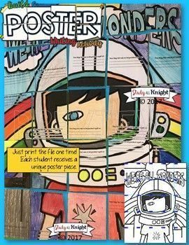 WE'RE ALL WONDERS BY R.J. PALACIO, WRITING ACTIVITY, POSTER, GROUP PROJECT #wonder