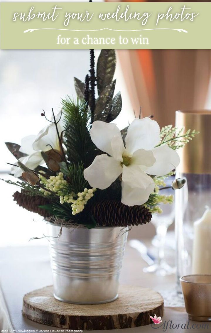 wedding centerpieces fake flowers%0A Afloral com u    s Submit Your Wedding Contest
