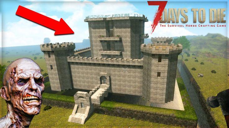 7 Days To Die: WORLDS BEST ZOMBIE SURVIVAL BASE!!! (7 Days To Die Gameplay)