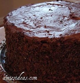 Ice cream sundae, 4 layer chocolate cake!!!!!   Chocoholics ...