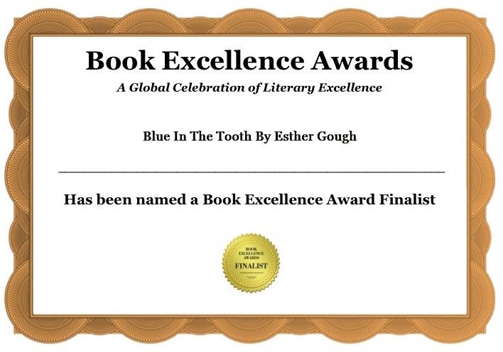 BOOK EXCELLENCE AWARD FINALIST BLUE IN THE TOOTH, teeth hygiene with a colour therapy twist! TAKE A LOOK; http://www.blueinthetooth.com