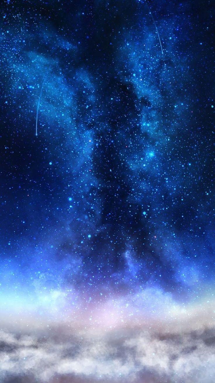 Wallpaper Blue Galaxy Blue Galaxy Wallpaper Galaxies Wallpaper Backgrounds Phone Wallpapers